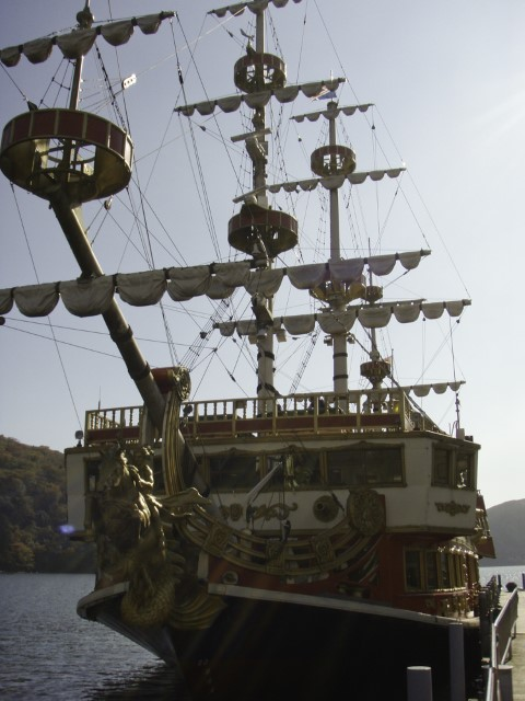 Pirate Ship, Lake Ashi