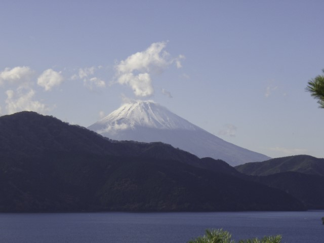 Mt.Fuji from Lake Ashi