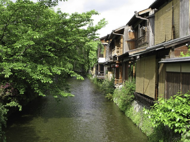 Canal in Gion, Kyoto