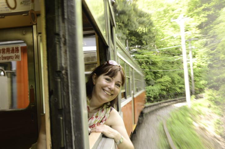 The Switch-back train, Hakone