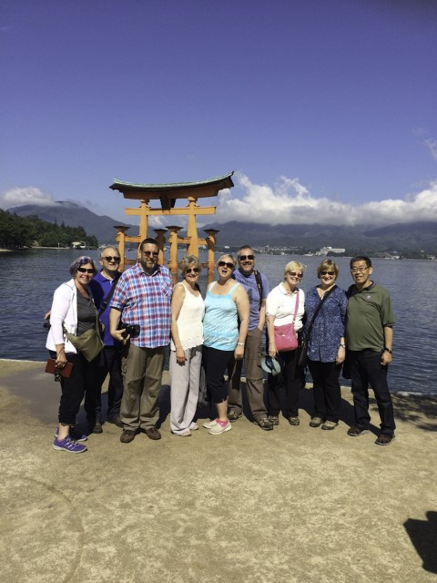 Miyajima group photo