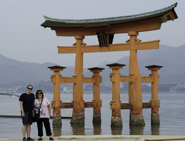 Floating tori of Itsukushima
