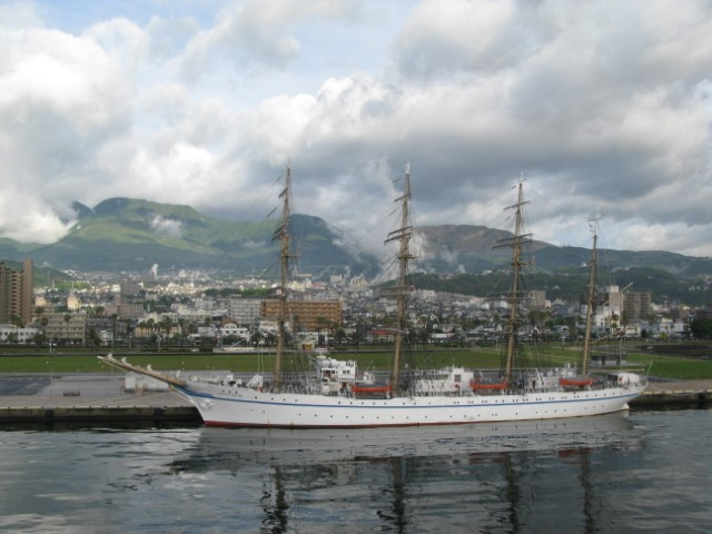 Tall ships of times gone by