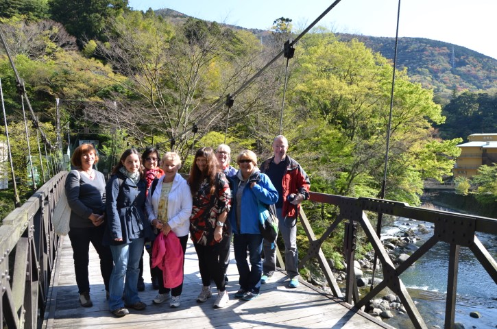 Group photo in Hakone