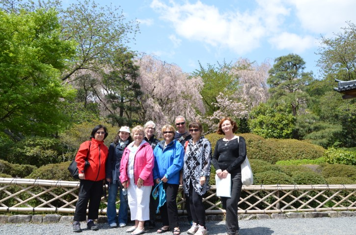Group tour to Japan in the Spring