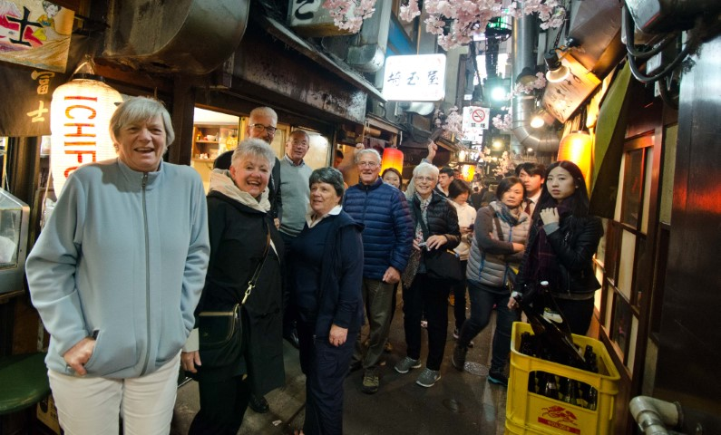 First night of the Takayama festival tour