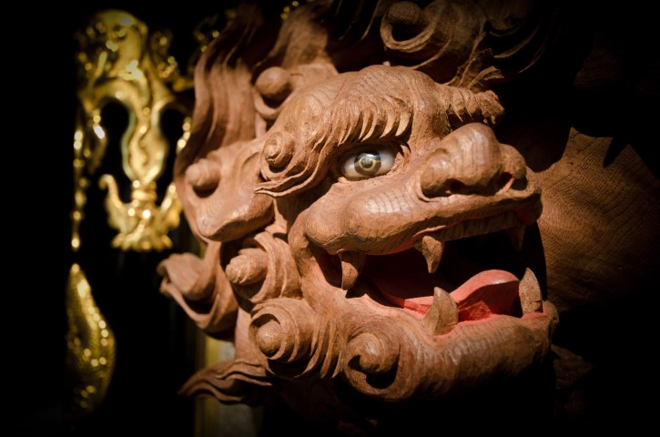 Takayama Float carvings