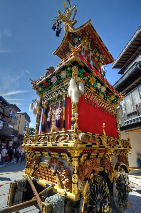 Takayama Float display