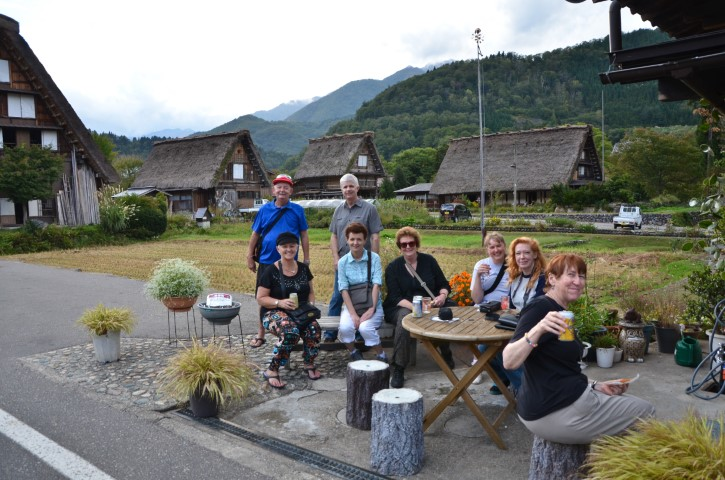 A wee break, Shirakawa-go