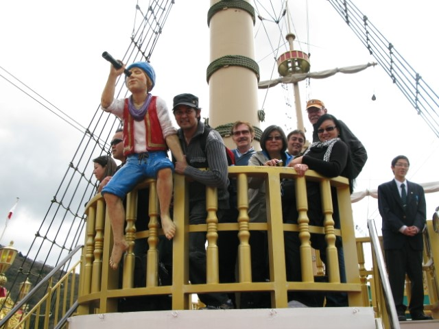 Pirates in Hakone