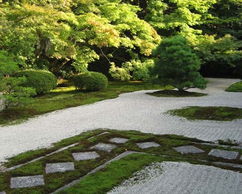 Japanese Zen Gardens Rock Gardens In Japan